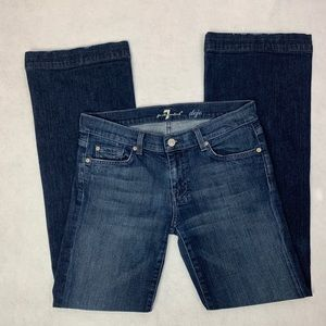 7 For All Mankind Dojo Jeans Wide Flare 29 x 31.5